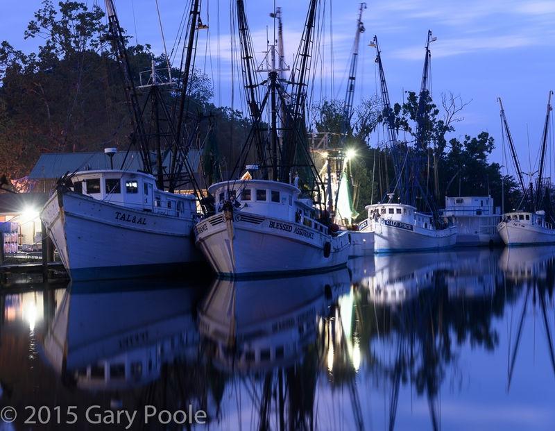 Shrimp Boats at Dawn.