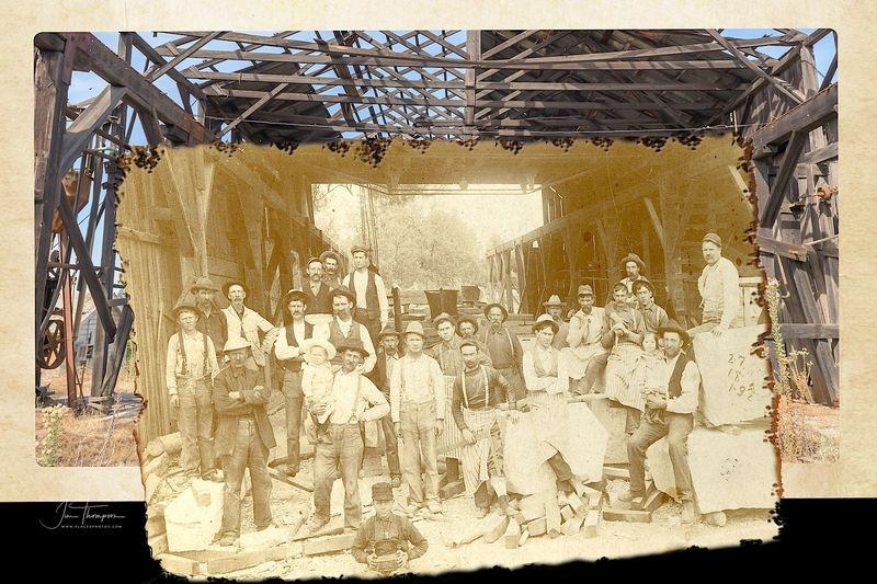 Capital Quarry Cutting Shed