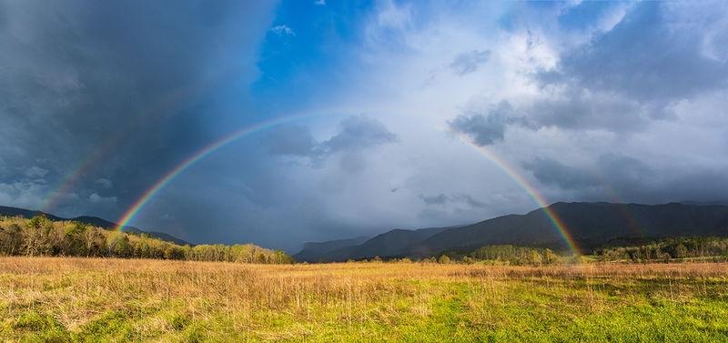 merged rainbow