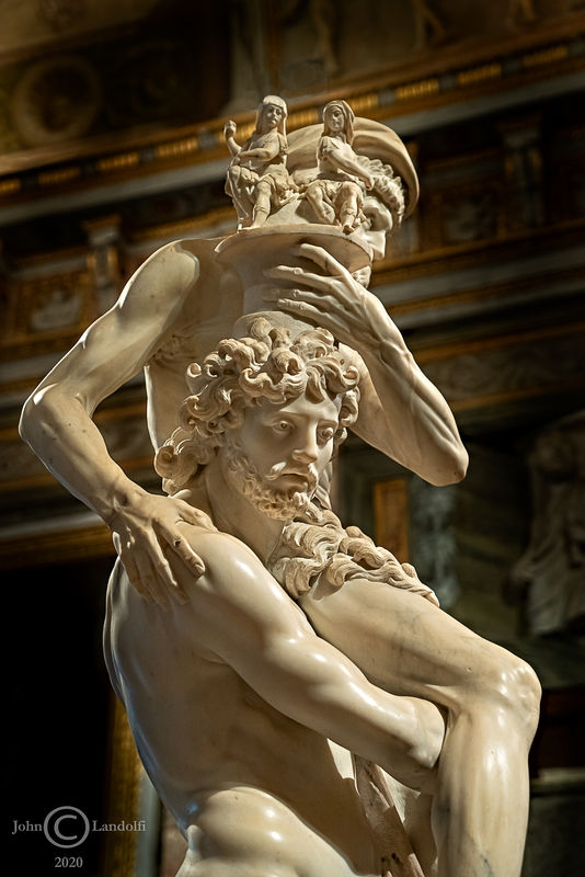 Aeneas, by Lorenzo Bernini