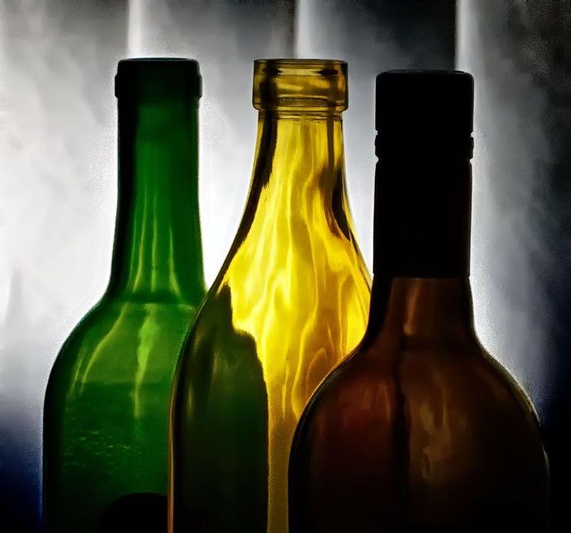 Bottles - Wavy Glass