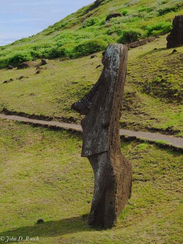 Profile of a Moai