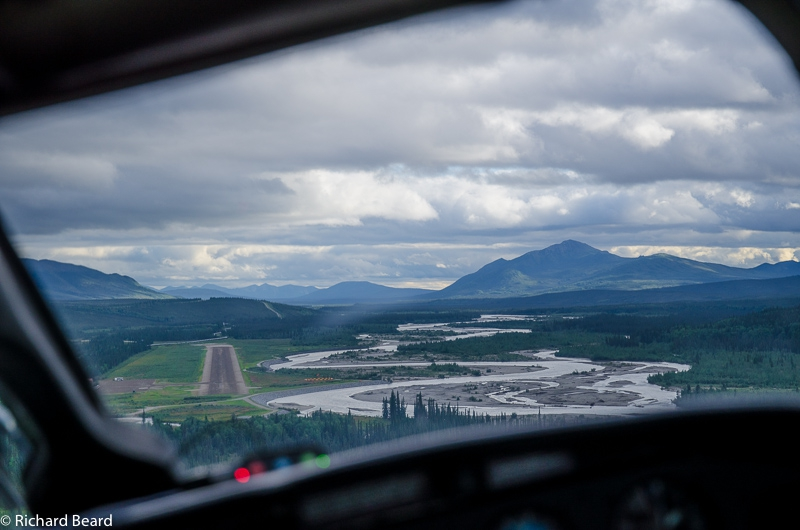 Banking for Coldfoot, AK ,airstrip.