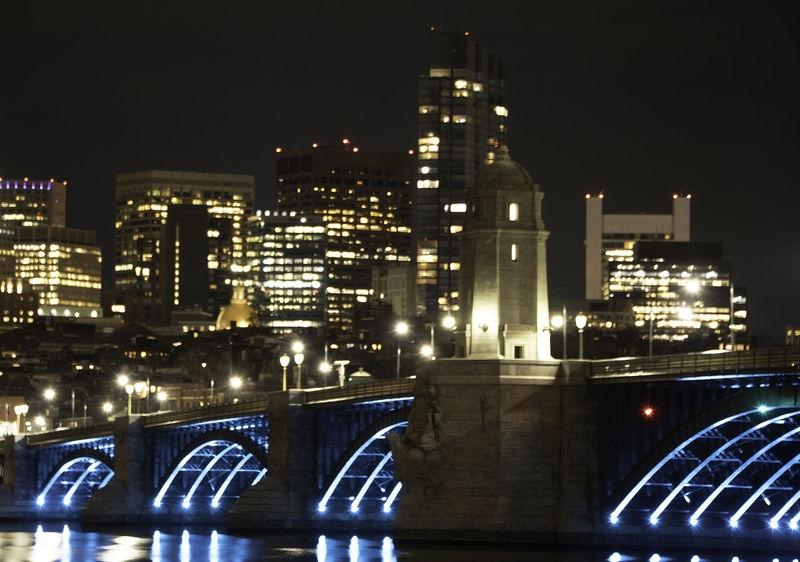 Longfellow Bridge, Boston MA
