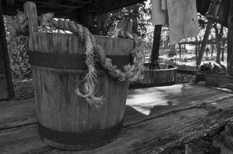 Worn Bucket