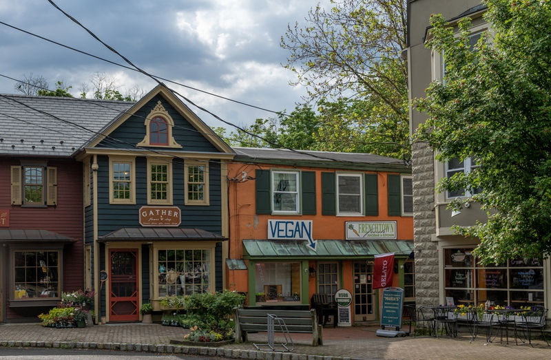 Frenchtown storefronts