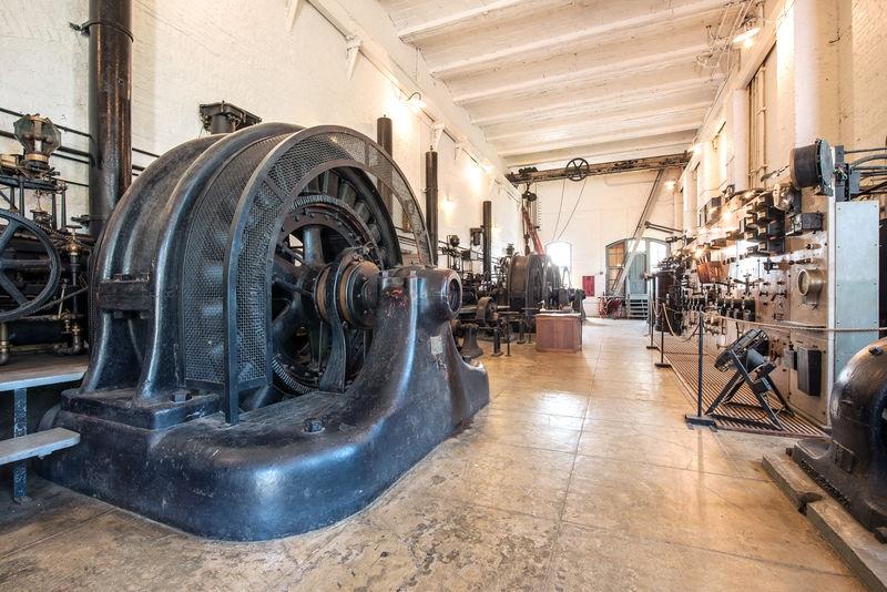 Folsom Powerhouse, Generator/Control Room