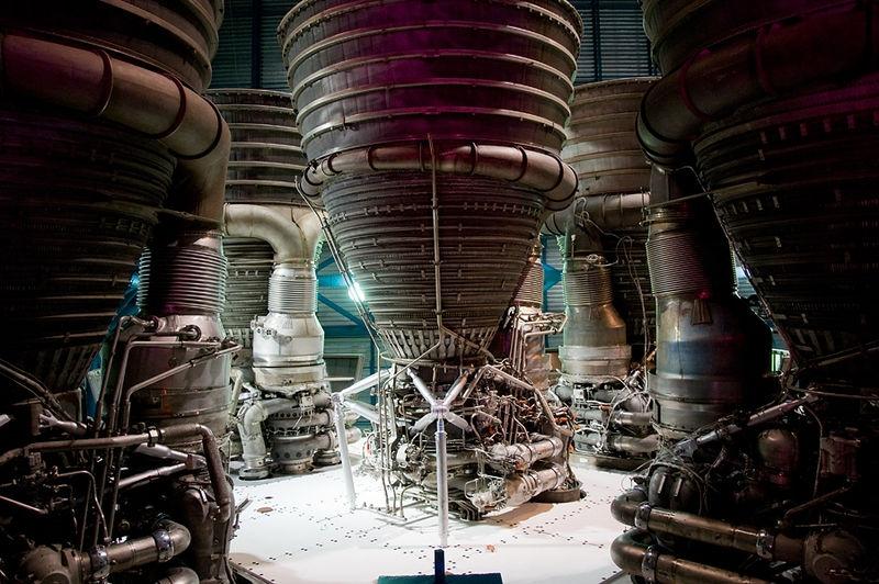NASA - Saturn 5 Rocket Engines