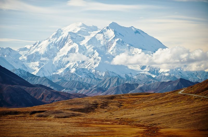 Mt McKinley from Stony Point