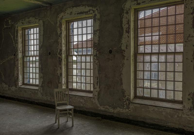 Chair & Three Windows