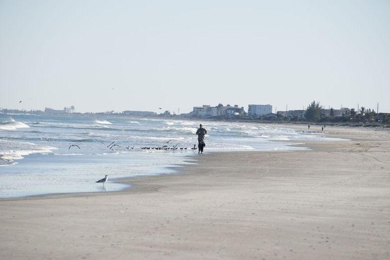 Beach Walk - Cocoa Beach, FL