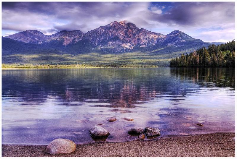 Pyramid Mountain, Jasper, Alberta Canada