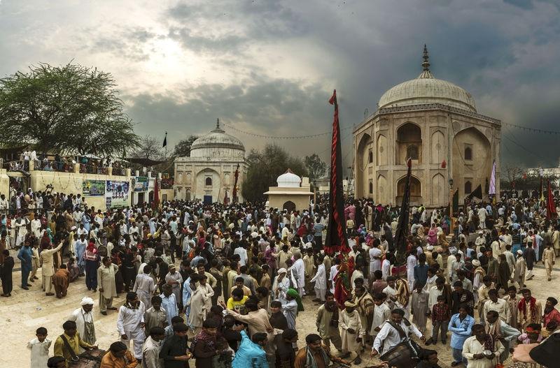 the shrine of Dawd bandagi, annual celebration for the saint