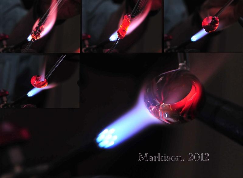 Handmade Borosilicate Test Tube Ring