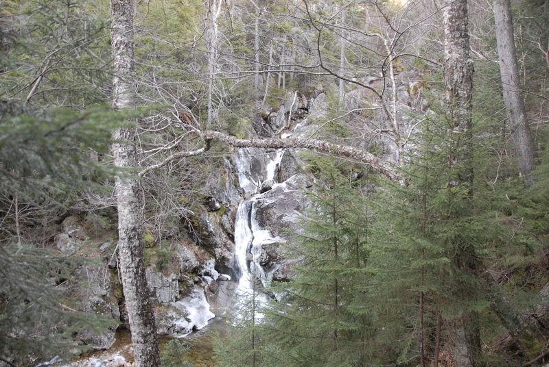 Waterfall, Crawford Path - White Mountains, New Hampshire