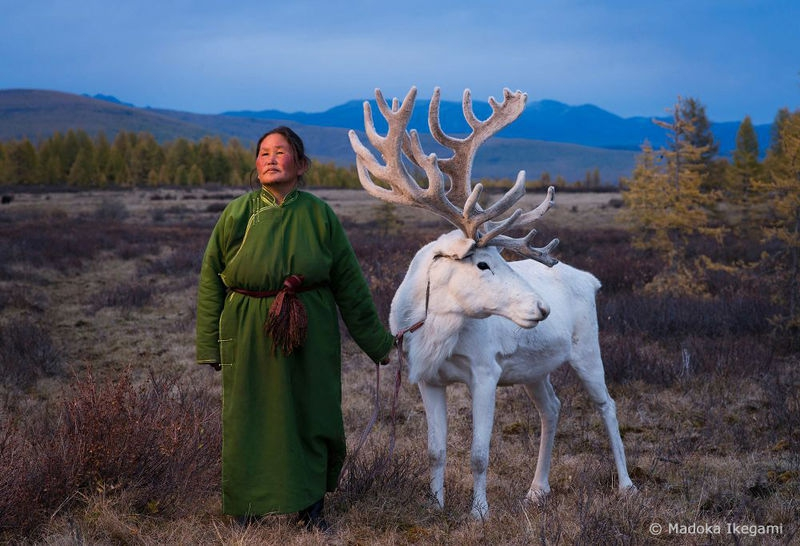 """""""Woman with Reindeer"""""""