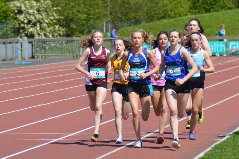 Irish schools 800m final