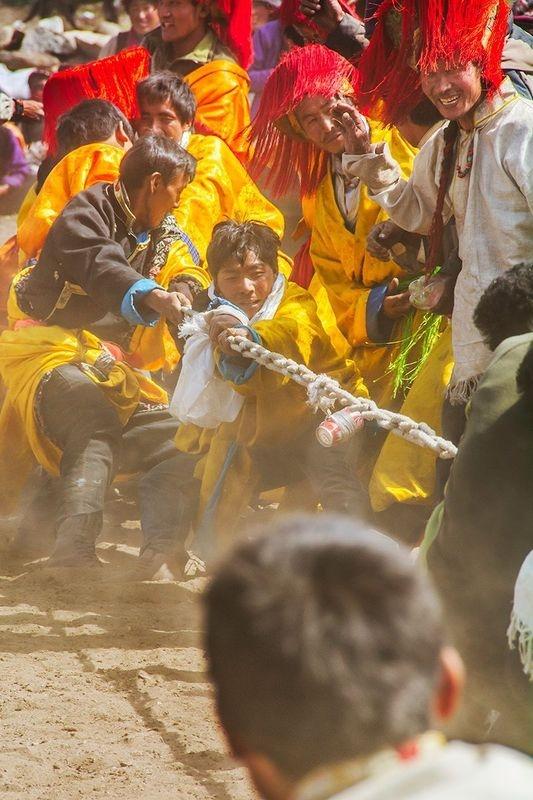 Tibetan Tug-of-War
