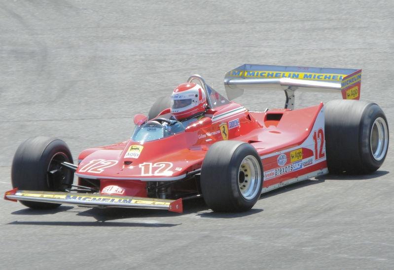 August 2009, Historic Grand Prix Cars, Turn 7