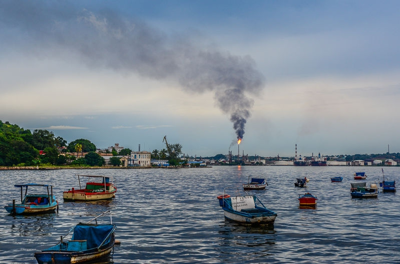 Flare - Havana Harbor