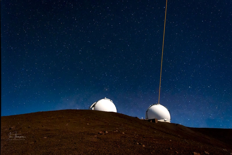Keck and the Southern Cross