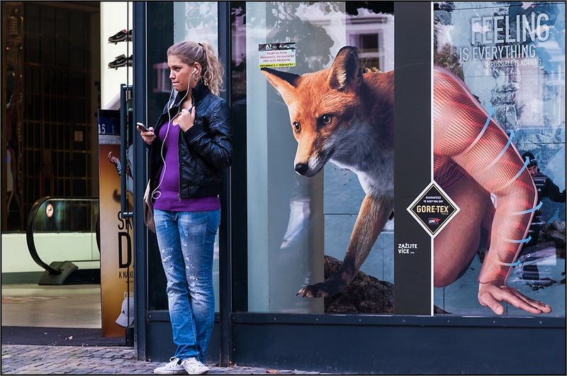 Feeling is Everything - a foxy look