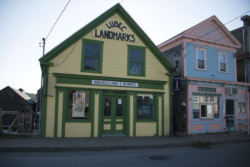 Storefront - Lubec, Maine