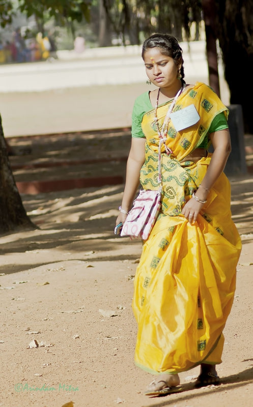 Jete Jete Akla Pothe...by Rabindranath Tagore
