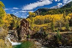 Winner November Landscape  Name: Russ Glindmeier (russg)  Theme: Man's Influence on the Landscape  Title: Crystal Mill, Colorado   D800E, Nikkor 24-120 f4 VR @ 24mm, 1/60 sec, f8, ISO 100
