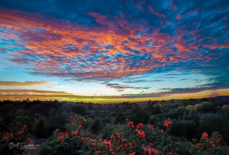 Trabuco Canyon Sunset