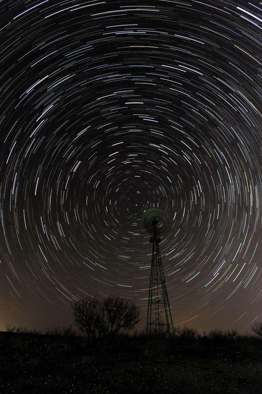 Star Trails on the Big Creek Ranch