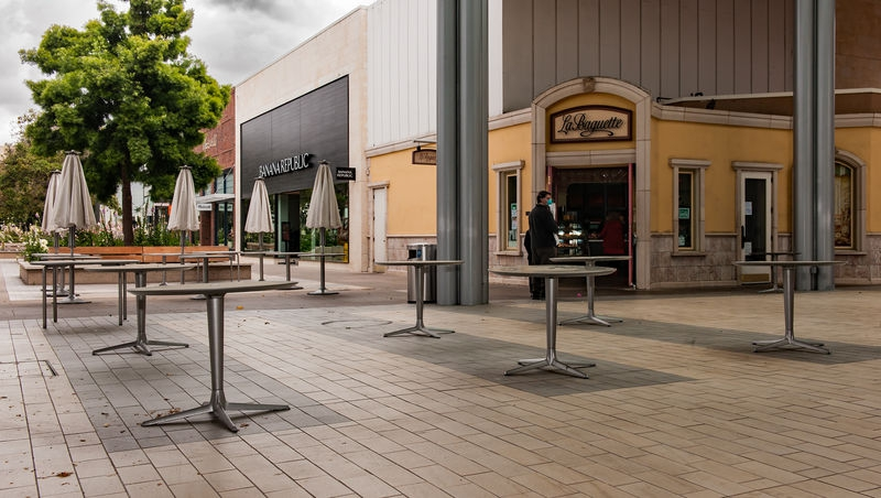Stanford Shopping Center: Covid-19