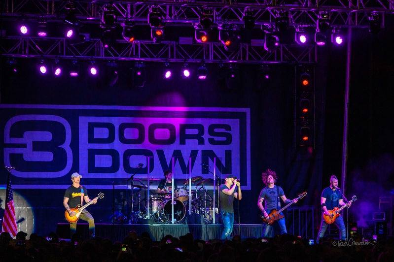 3 Doors Down at AZ Bike Week