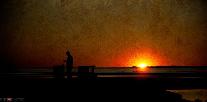 LI Sound sunset