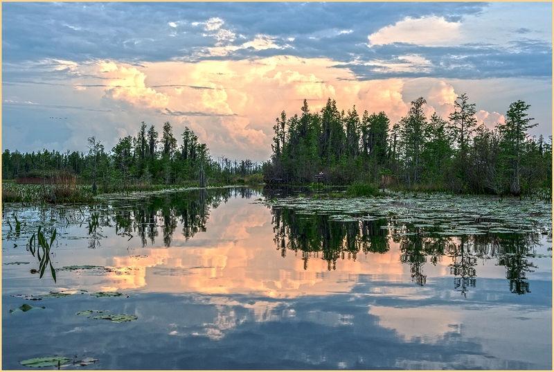 Okefenokee Swamp-Sunset