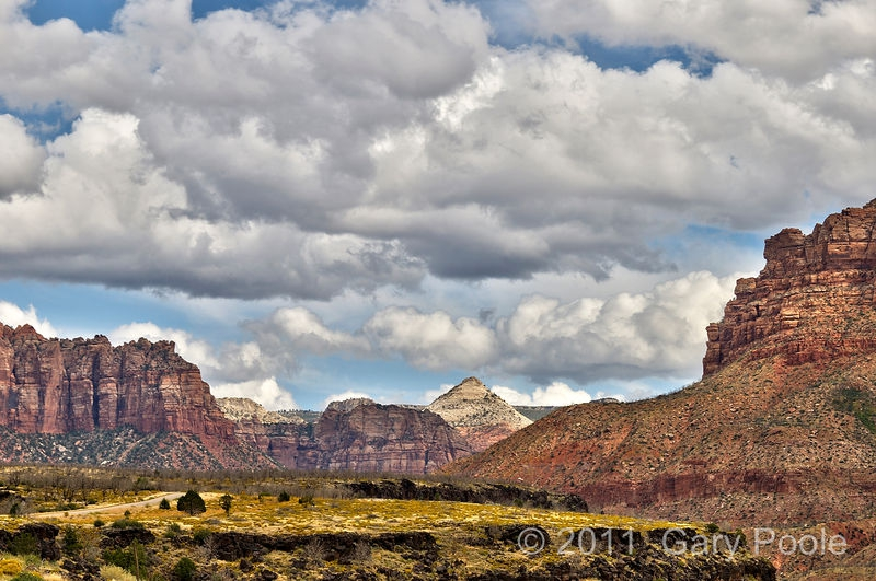 Zion from the West