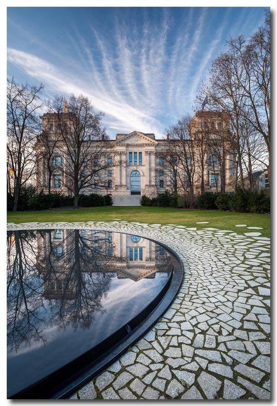 Memorial - Reichstag reflection