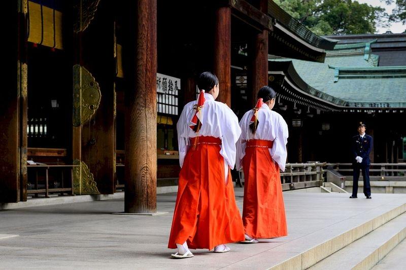 Tokyo Temple Ceremony