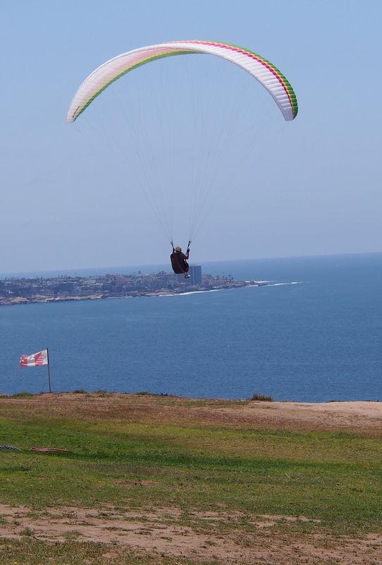 Para glider solo ,