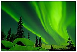 Alaska Winter Aurora (2pixels_short)