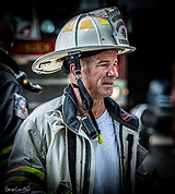 "#3 ""Eyes of Fire""- Firefighter responding to a structure fire.