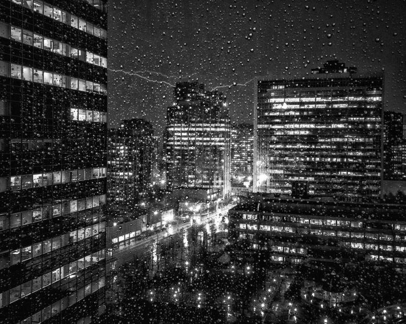 Lighting Strikes the City