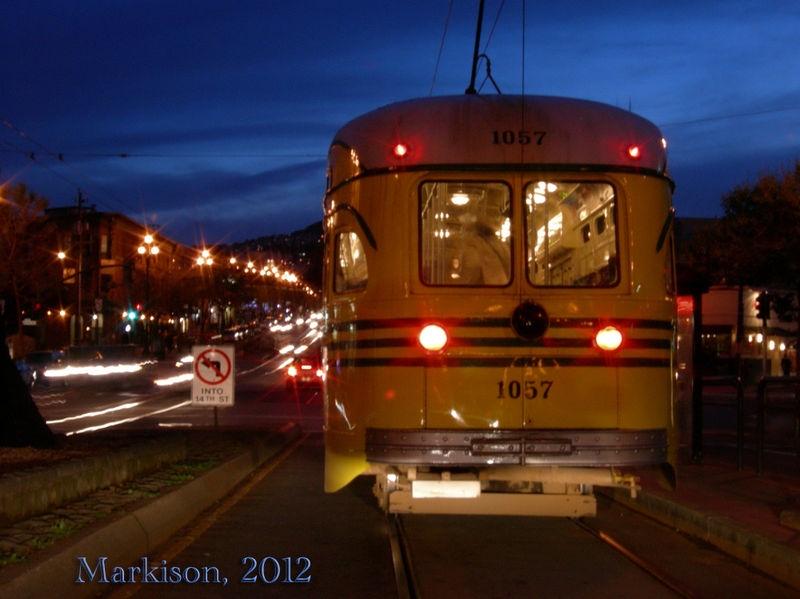 Streetcar, Twilight in San Francisco