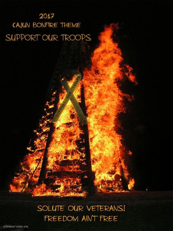 Christmas Eve Bonfire Tradition in Louisiana