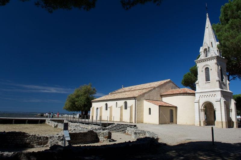 The church & roman ruins