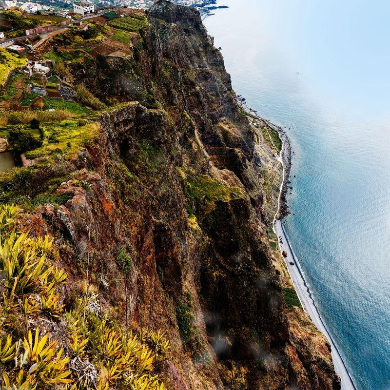 Steilküste Camara de Lobos