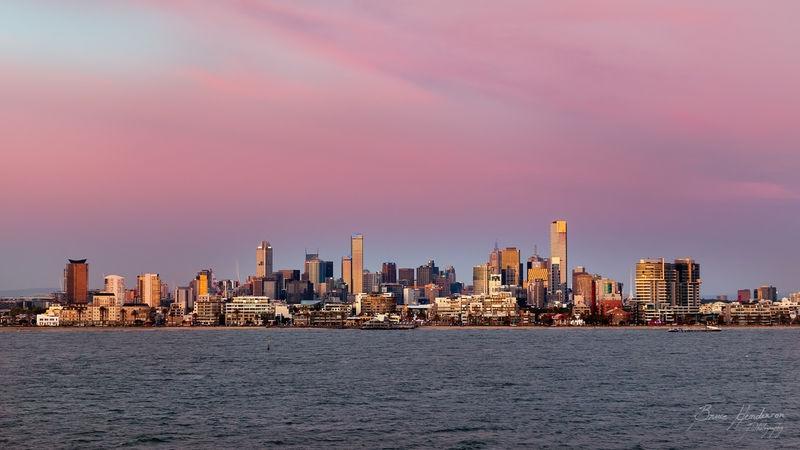 Leaving Melbourne bu Ferry