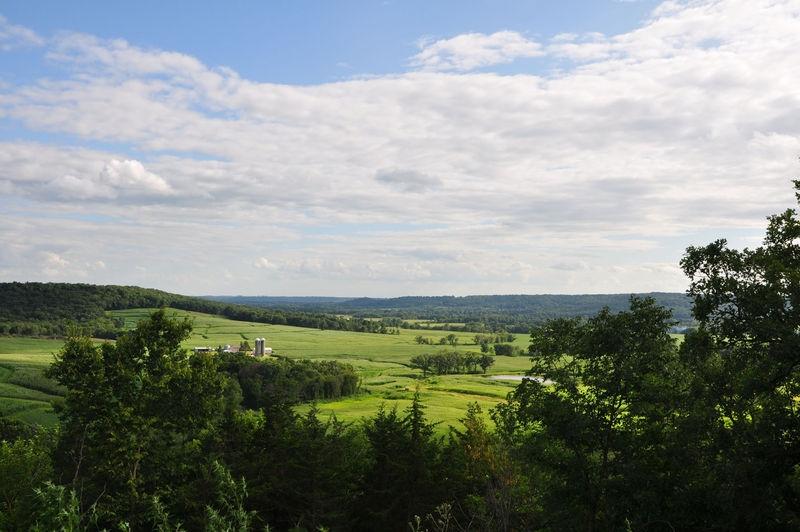 Jo Davies County farm valley