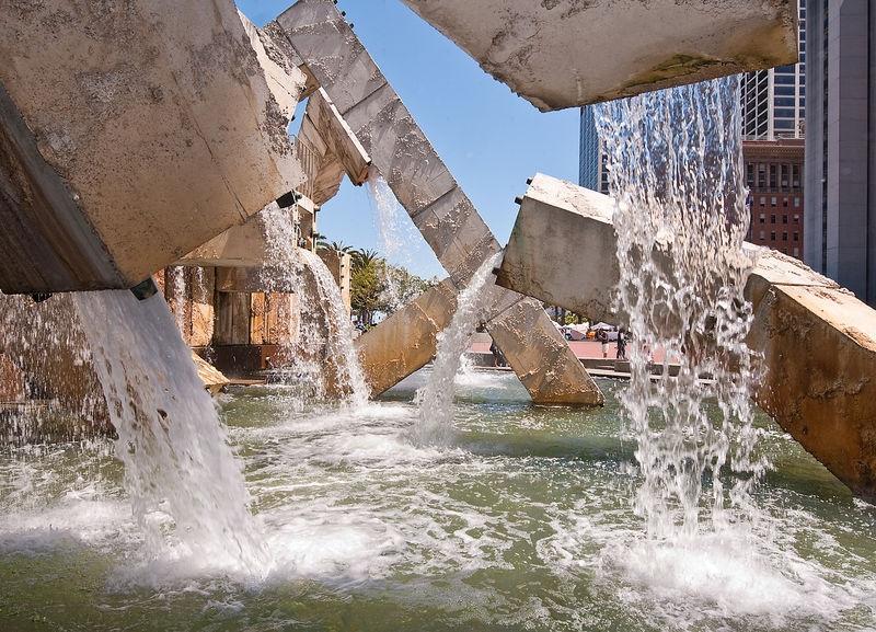 Vaillancourt Fountain, Embarcadero Center, San Francisco