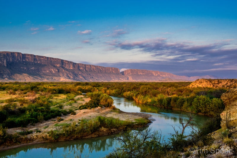 Early Morning on the Rio Grande